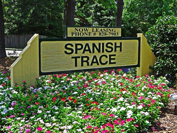 Spanish Trace Office Sign: Raleigh, NC